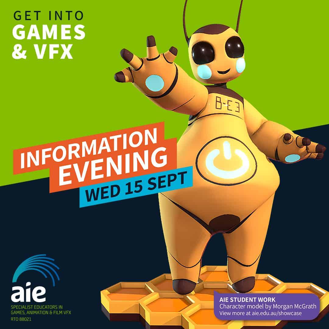 Information Evening September 2021 Square Image | AIE
