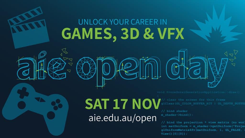 Open Day Nov 2018 | Academy of Interactive Entertainment