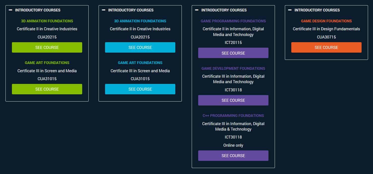 AIE Certificate Courses