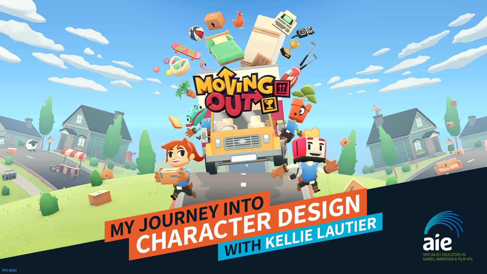 My journey into Character Design Kellie Lautier | AIE Workshop