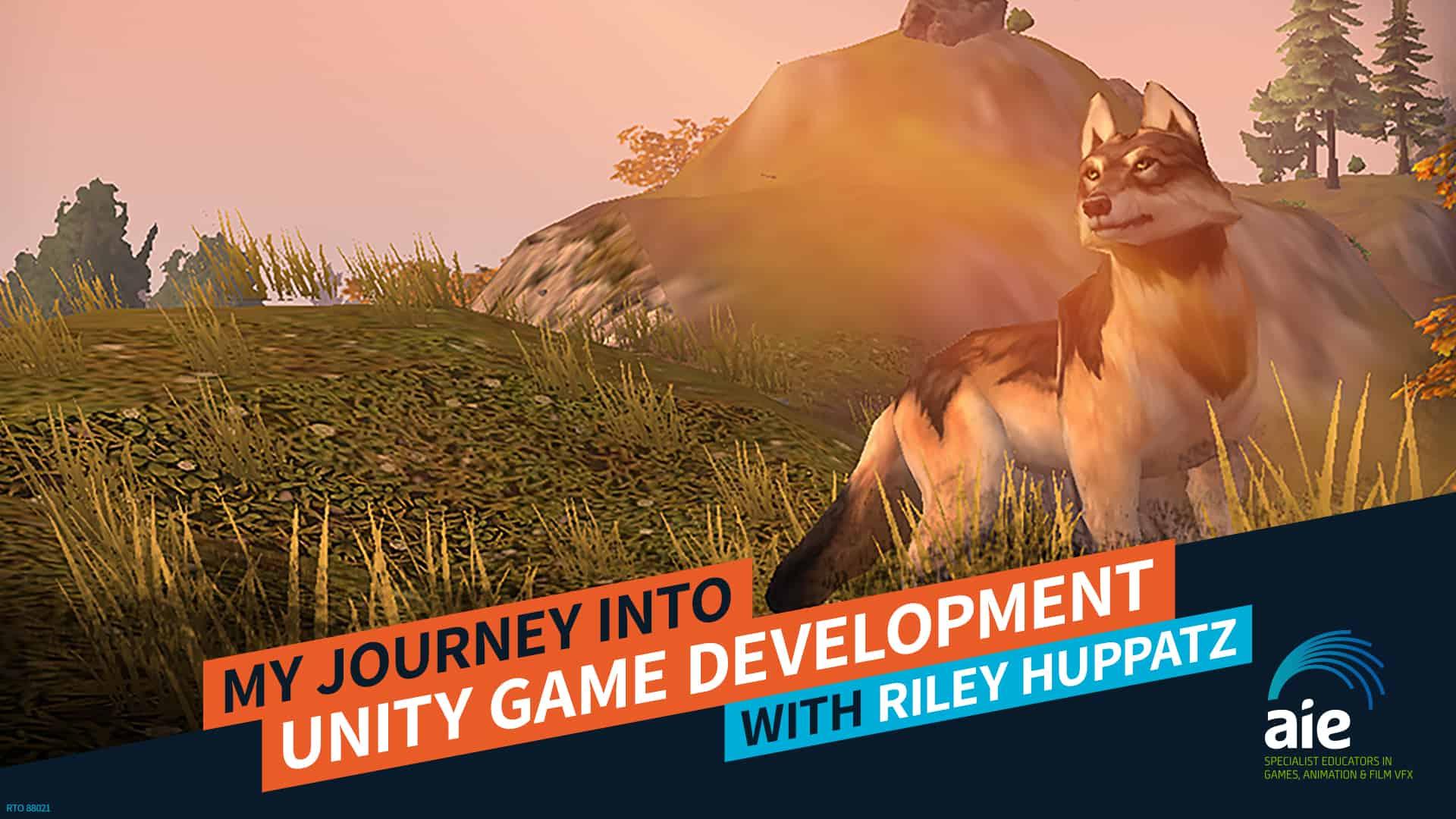 My Journey into Unity Game Development – Riley Huppatz | AIE Workshop