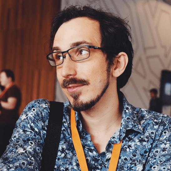 My Journey into Virtual Experience Design – Adam Matthews Profile Image | AIE Workshop