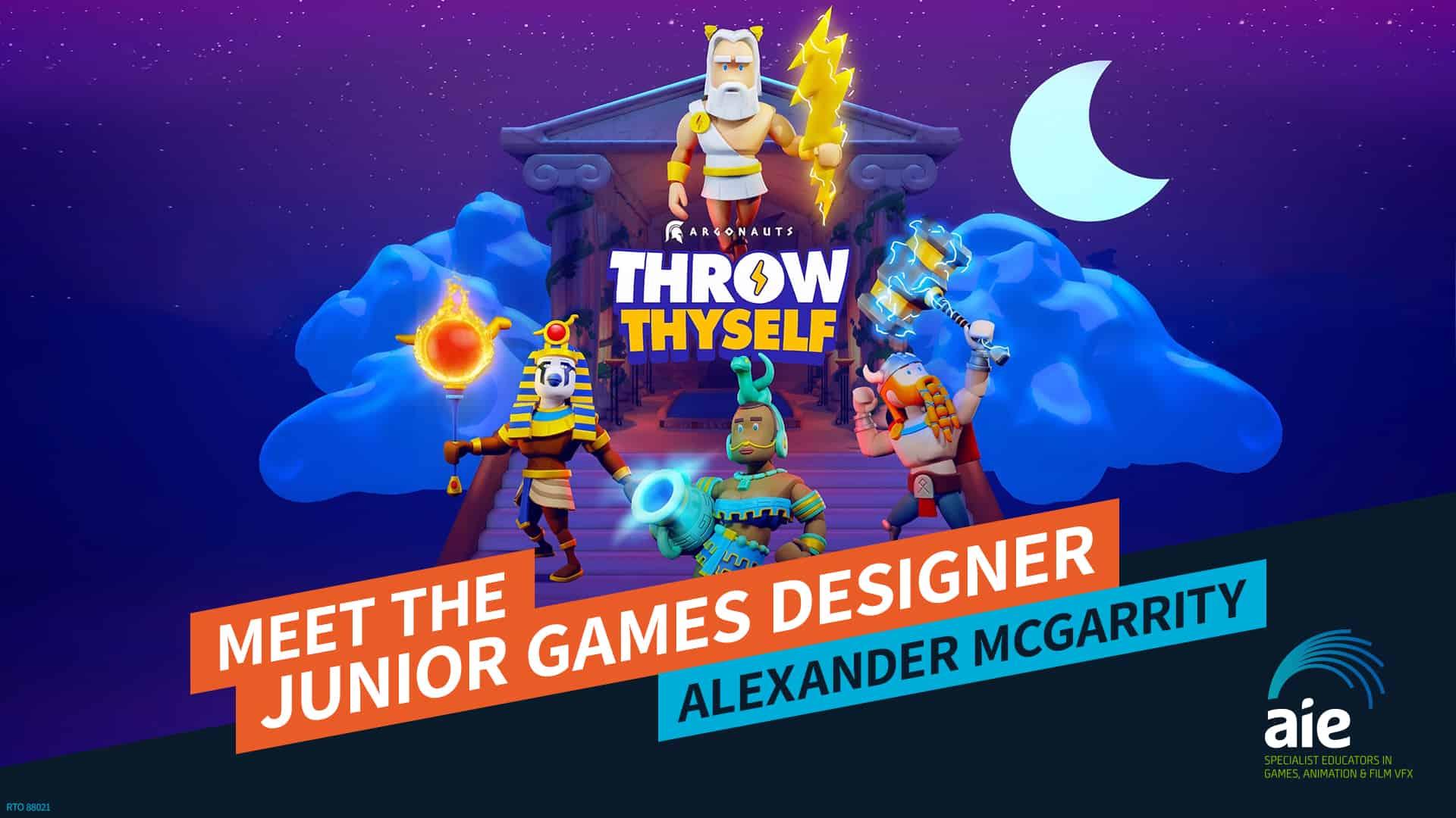Meet the Junior Game Designer: Alexander McGarrity | AIE Workshop