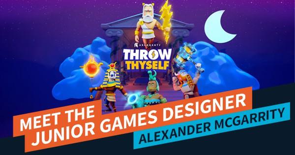 Meet the Junior Game Designer: Alexander McGarrity Feature Image | AIE Workshop