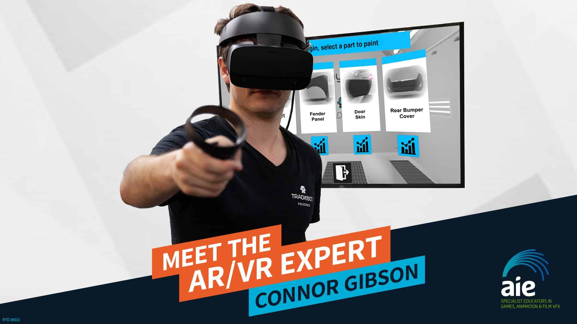 Meet the AR/VR Expert: Connor Gibson | AIE Workshop