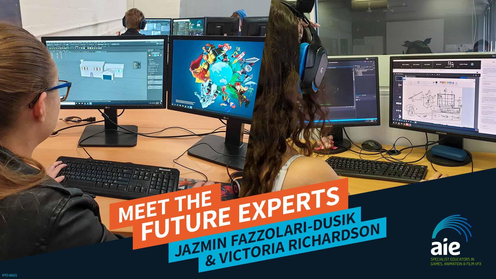 Meet to the Future Experts: Jazmin Fazzolari-Dusik & Victoria Richardson | AIE Workshop