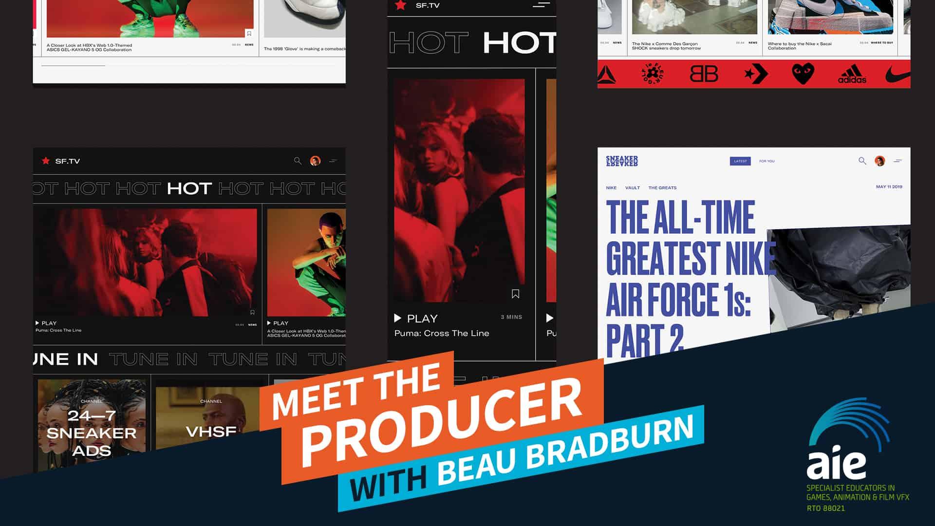 Meet the Producer: Beau Bradburn | AIE Workshop