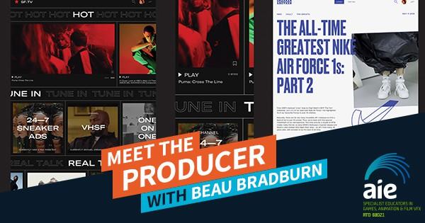 Meet the Producer: Beau Bradburn Featured Image | AIE Workshop