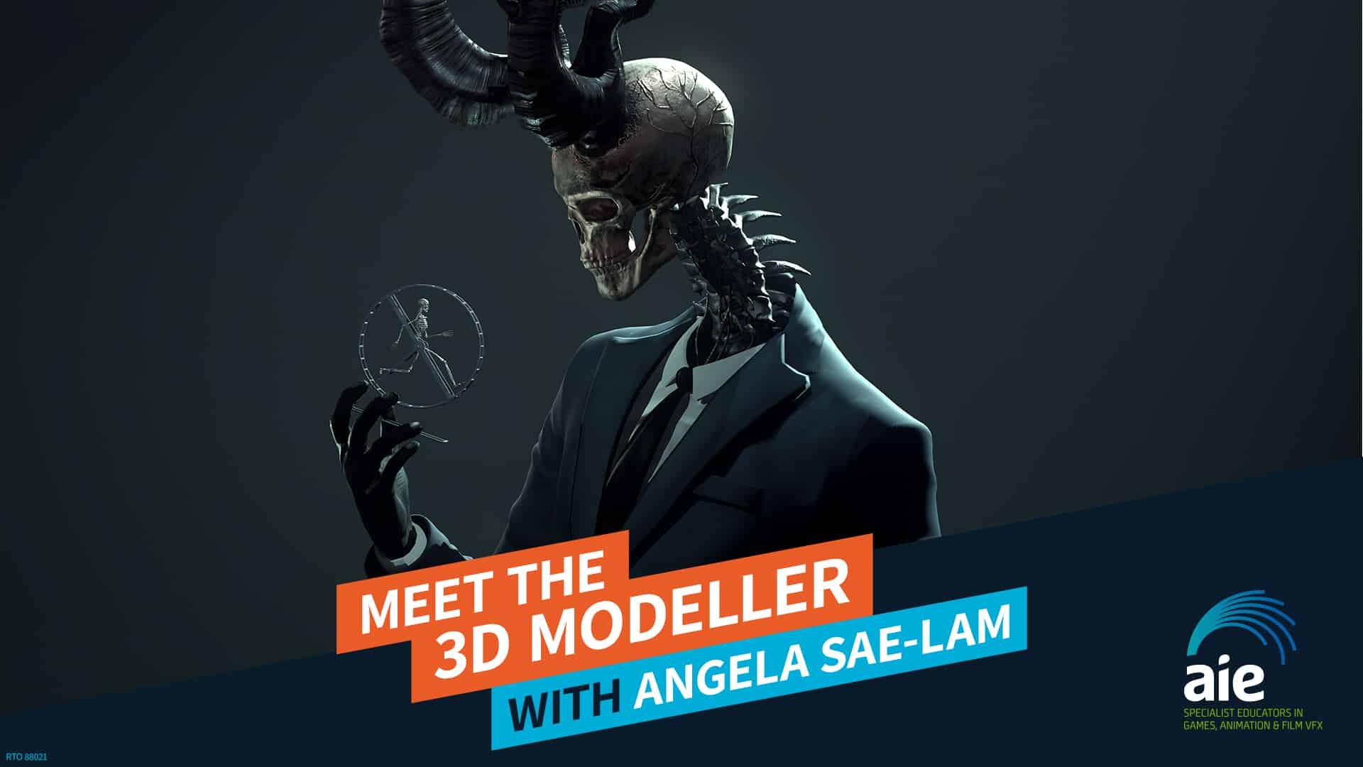 Meet the 3D Modeler: Angela Sae-Lam | AIE Workshop