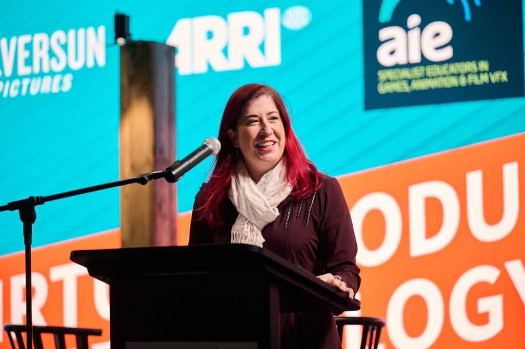 Minister Tara Cheyne MLA Virtual Production Showcase | AIE