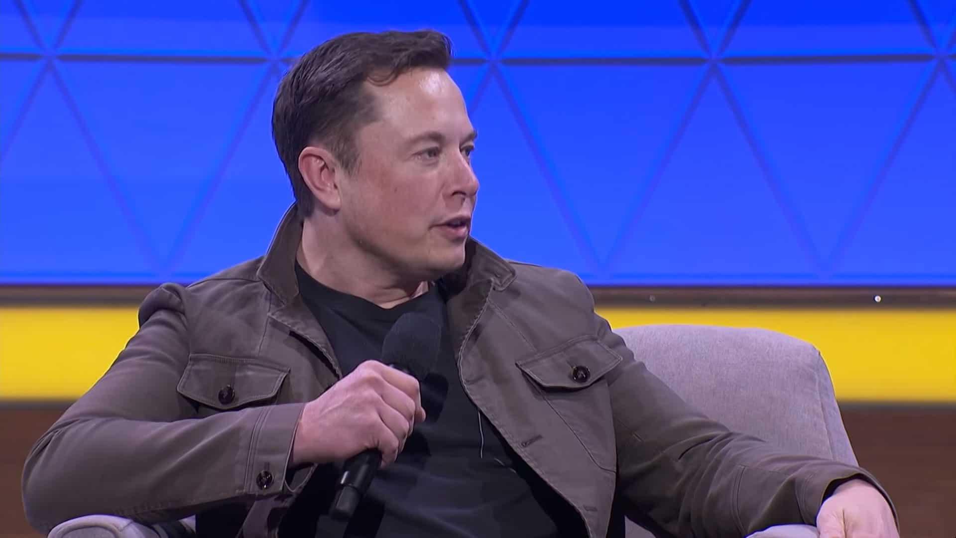 Elon Musk at E3 2019