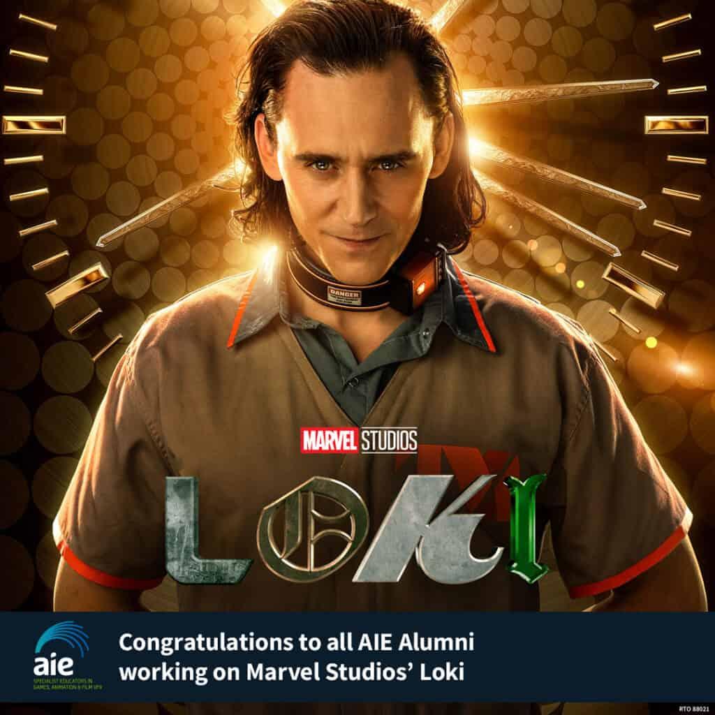 AIE Alumni credited at Loki