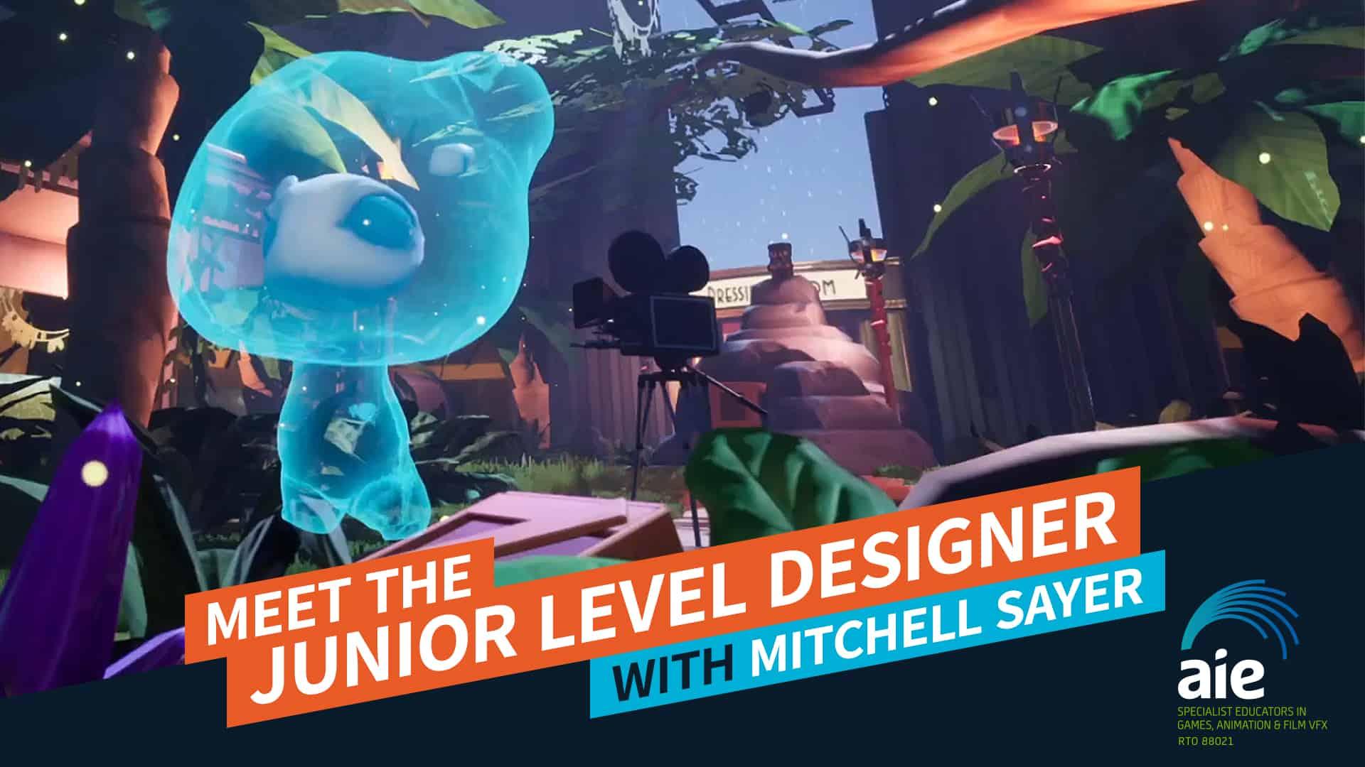 Meet the Junior Level Designer: Mitchell Sayer | AIE Workshop