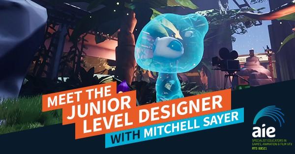 Meet the Junior Level Designer – Mitchell Sayer
