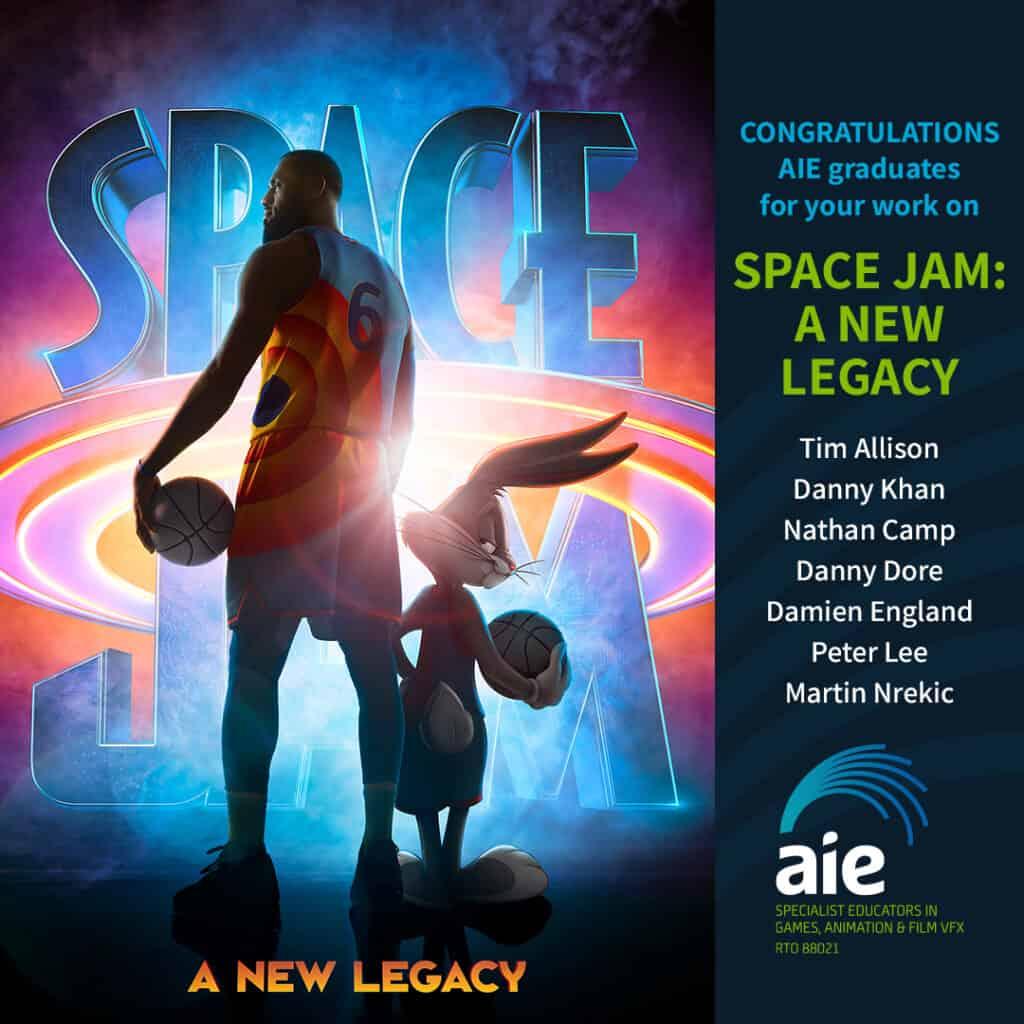 AIE Alumni on Space Jam