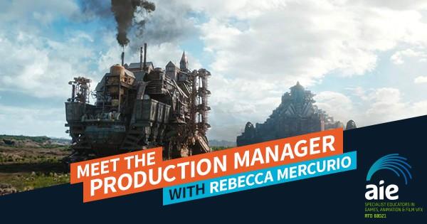 Meet the Production Manager: Rebecca Mercurio Feature Image | AIE Workshop