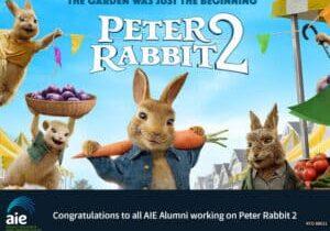 AIE Alumni credited at Peter Rabbit 2